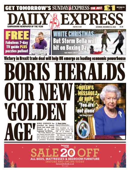 Daily Express (Irish) December 26, 2020 00:00