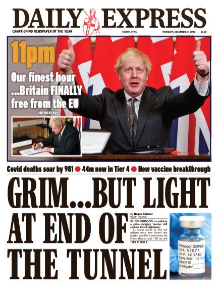 Daily Express (Irish) December 31, 2020 00:00