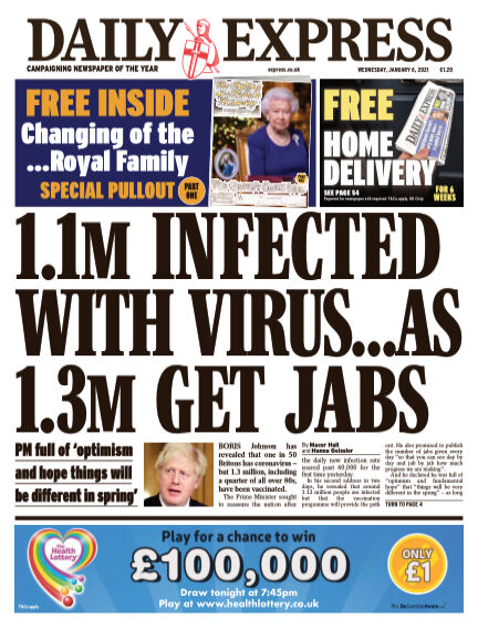 Daily Express (Irish) January 06, 2021 00:00