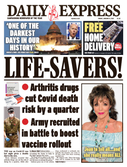 Daily Express (Irish) January 08, 2021 00:00