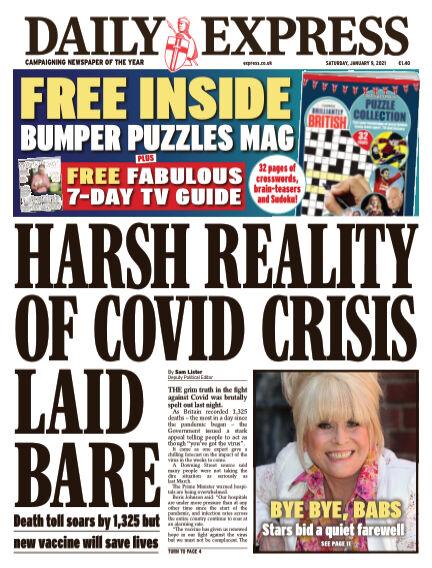 Daily Express (Irish) January 09, 2021 00:00