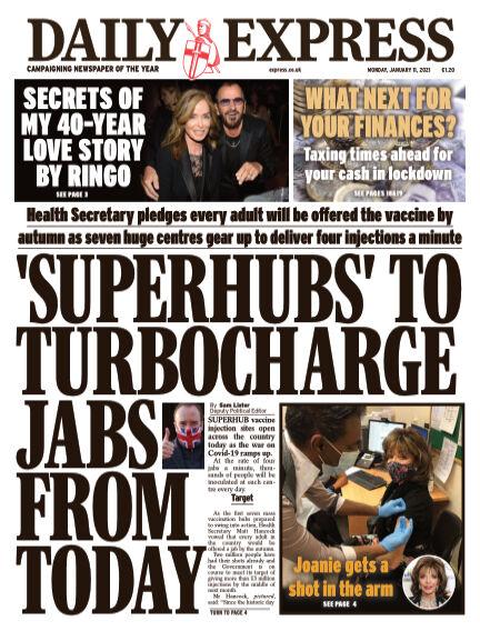 Daily Express (Irish) January 11, 2021 00:00