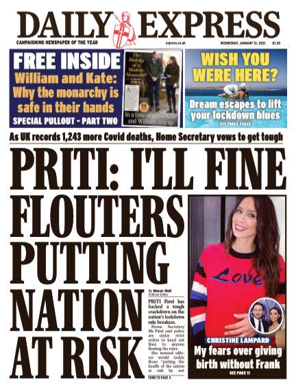 Daily Express (Irish) January 13, 2021 00:00