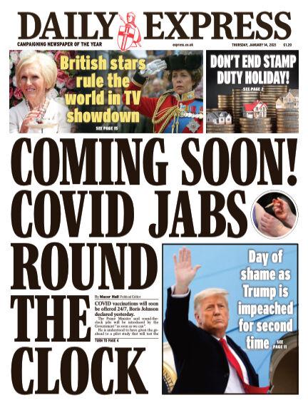 Daily Express (Irish) January 14, 2021 00:00