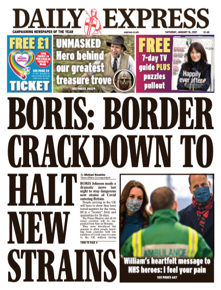 Daily Express (Irish) January 16, 2021 00:00
