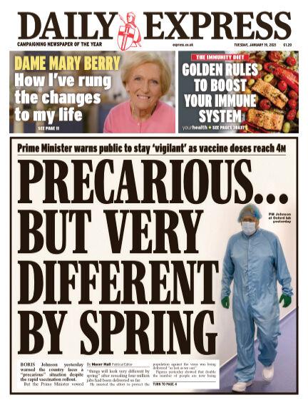 Daily Express (Irish) January 19, 2021 00:00