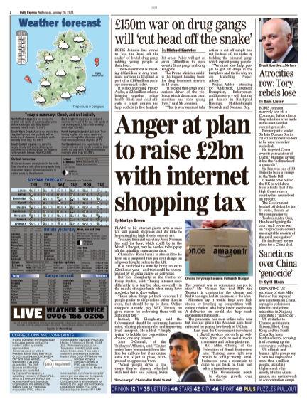 Daily Express (Irish) January 20, 2021 00:00