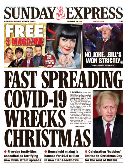 Sunday Express (Irish) December 20, 2020 00:00