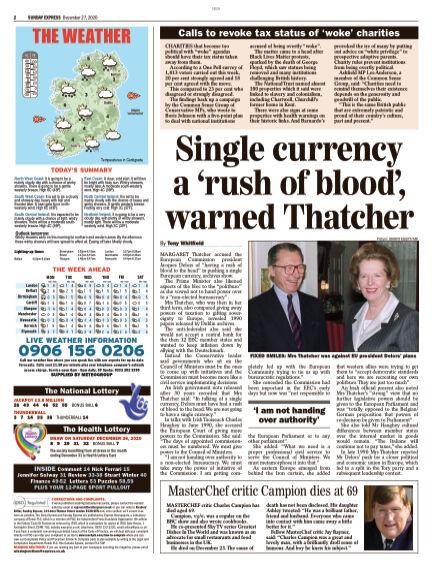 Sunday Express (Irish) December 27, 2020 00:00