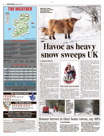 Sunday Express (Irish) January 17, 2021 00:00
