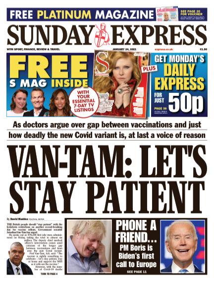 Sunday Express (Irish) January 24, 2021 00:00