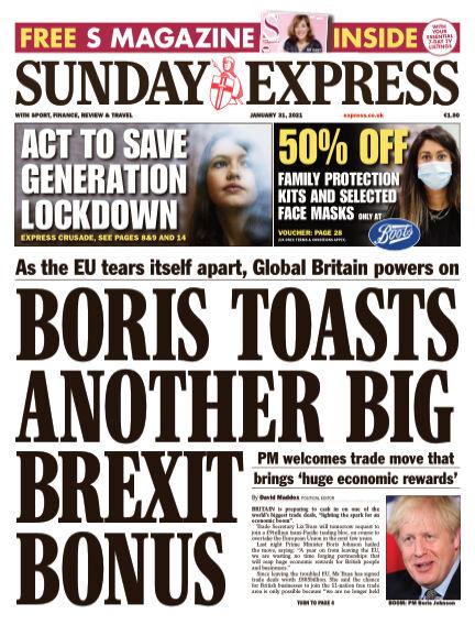 Sunday Express (Irish) January 31, 2021 00:00