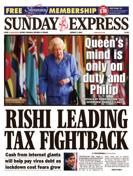 Sunday Express (Irish) March 07, 2021 00:00