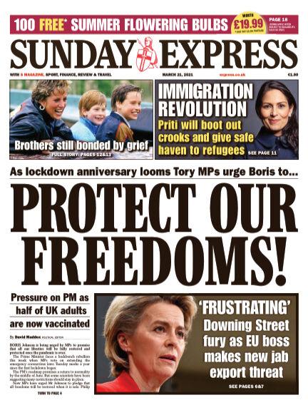 Sunday Express (Irish) March 21, 2021 00:00