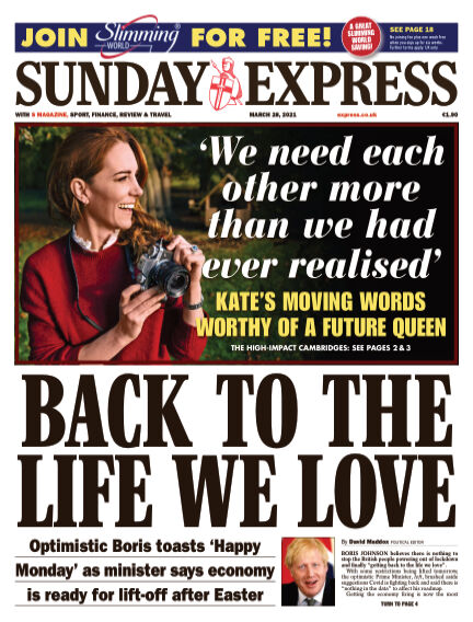 Sunday Express (Irish) March 28, 2021 00:00