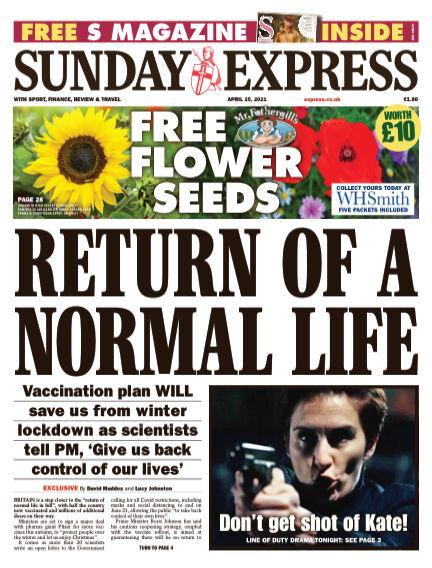 Sunday Express (Irish) April 25, 2021 00:00