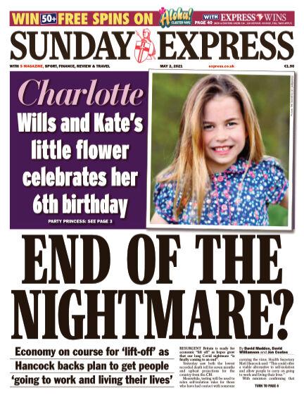 Sunday Express (Irish) May 02, 2021 00:00