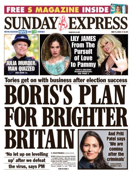 Sunday Express (Irish) May 09, 2021 00:00