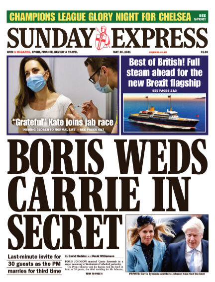 Sunday Express (Irish) May 30, 2021 00:00
