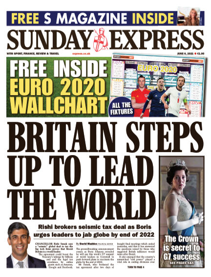 Sunday Express (Irish) June 06, 2021 00:00
