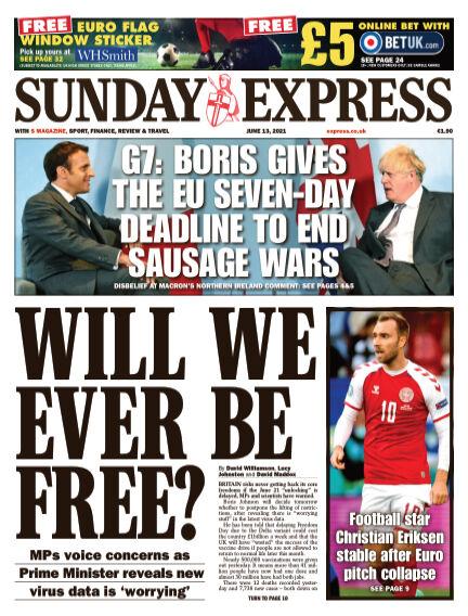 Sunday Express (Irish) June 13, 2021 00:00