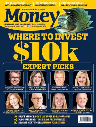 Money Magazine Australia November 2020