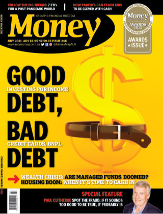 Money Magazine Australia July 2021