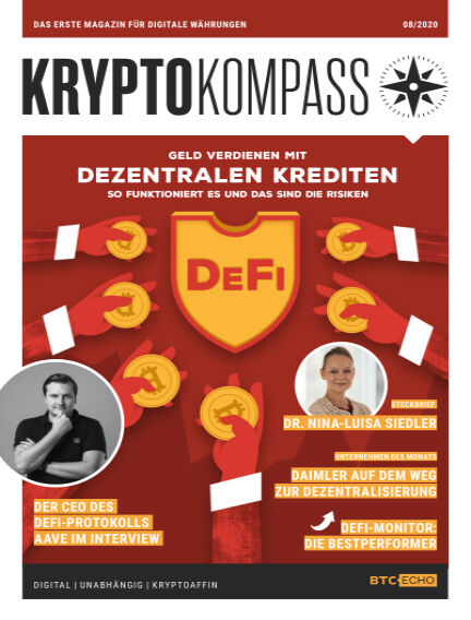 Der Kryptokompass - Das Magazin für Bitcoin, Blockchain und Krypto August 01, 2020 00:00