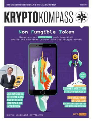 Der Kryptokompass - Das Magazin für Bitcoin, Blockchain und Krypto 09-2020