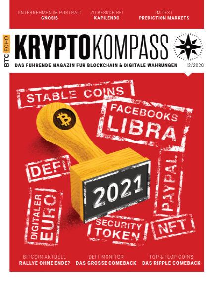 Der Kryptokompass - Das Magazin für Bitcoin, Blockchain und Krypto December 01, 2020 00:00