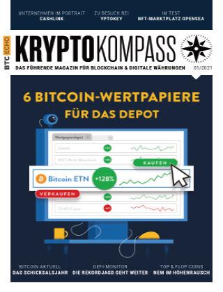 Der Kryptokompass - Das Magazin für Bitcoin, Blockchain und Krypto 01-2021