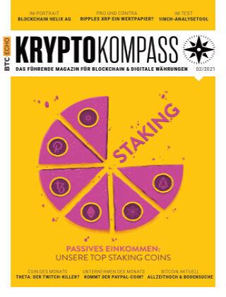 Der Kryptokompass - Das Magazin für Bitcoin, Blockchain und Krypto 02-2021