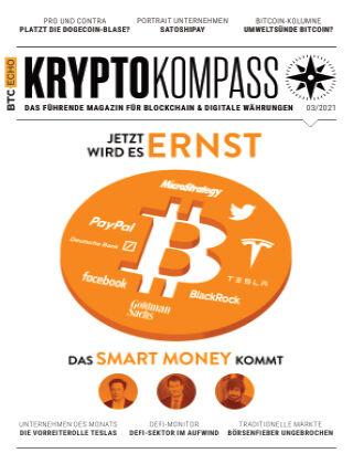 Der Kryptokompass - Das Magazin für Bitcoin, Blockchain und Krypto 03-2021
