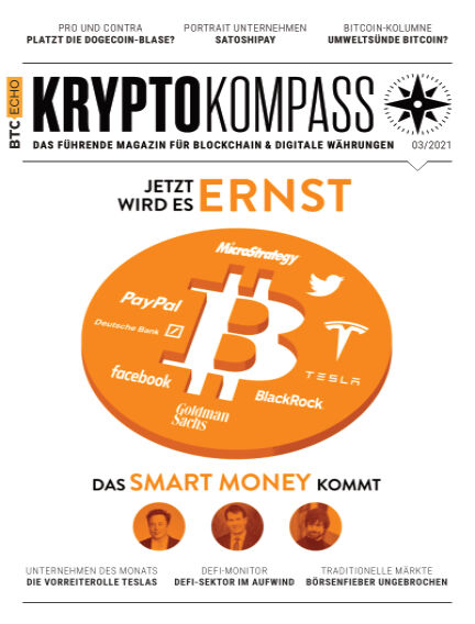 Der Kryptokompass - Das Magazin für Bitcoin, Blockchain und Krypto March 01, 2021 00:00