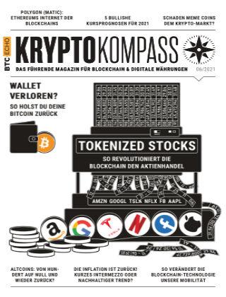 Der Kryptokompass - Das Magazin für Bitcoin, Blockchain und Krypto 06-2021