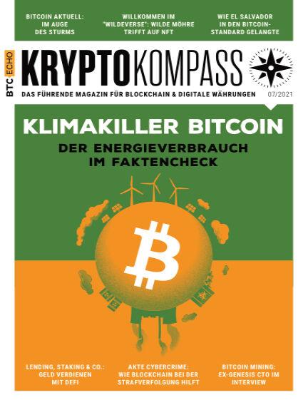 Der Kryptokompass - Das Magazin für Bitcoin, Blockchain und Krypto July 01, 2021 00:00
