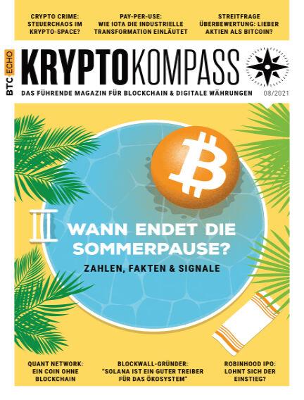 Der Kryptokompass - Das Magazin für Bitcoin, Blockchain und Krypto August 01, 2021 00:00
