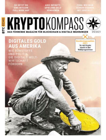 Der Kryptokompass - Das Magazin für Bitcoin, Blockchain und Krypto September 01, 2021 00:00