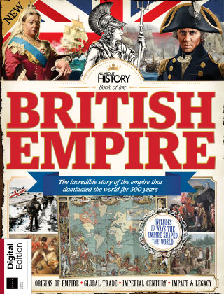 All About History Book of the British Empire 4th Edition