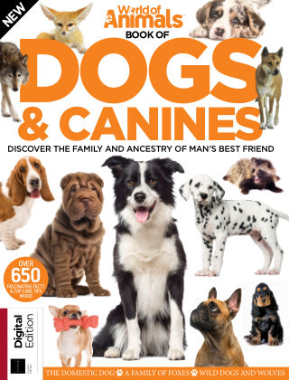 World Of Animals Book of Dogs & Canines Fourth Edition