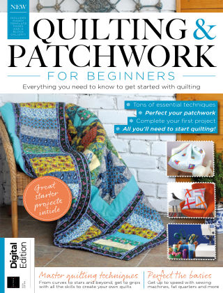 Quilting & Patchwork for Beginners Sixth Edition