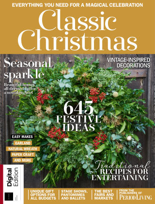 Period Living Classic Christmas First Edition