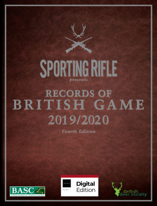 Records of British Game Fourth Edition