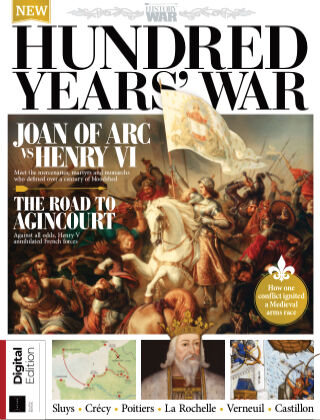 History of War - Book of the Hundred Years' War Fourth Edition