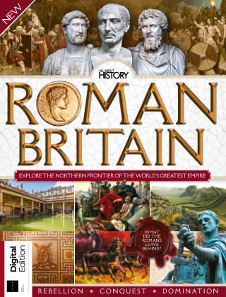 All About History Book of Roman Britain 1st Edition