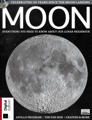 All About Space Book of the Moon First Edition