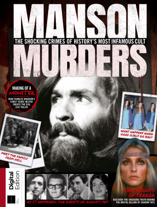 Real Crime Manson Murders 1st Edition