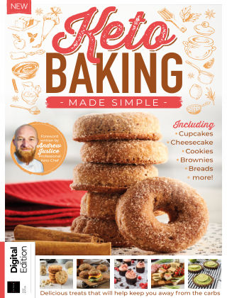 Keto Baking Made Simple 1st Edition