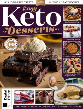 Easy Keto Desserts First Edition