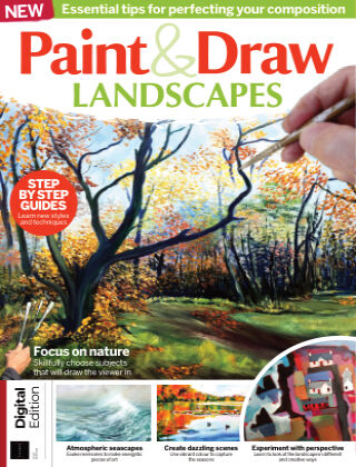 Paint & Draw: Landscapes First Edition